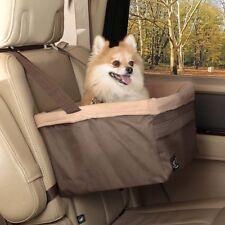 Solvit Pet Dog Booster Elevated Car Seat Carrier Medium Standard w/ Safety Leash