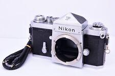 Nikon F Silver Body with Nippon Kogaku Mt. Fuji Mark [ V.Good ][ FedEx ] #H82608