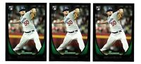 2011 Bowman NATHAN EOVALDI rc Lot 3 rookie boston red sox # 79