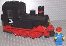 LEGO ® 4,5v train ferrovia Lok 7715 SENZA MOTORE