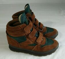 Vintage Ll Bean G2 Womens Hiking Boots Size 8 Brown Leather Thinsulate High Top