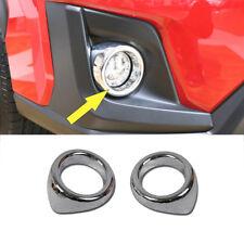 Fit for Subaru XV/Crosstrek 2018-2020 ABS Chrome Front Fog Lamp Cover Trim Decor