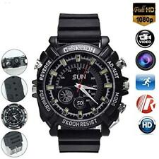 HD 16GB IR Night Vision SPY Camera DVR WRIST Watches Video Recorder
