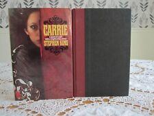 CARRIE Stephen King 1974 HC/DJ Doubleday & Company