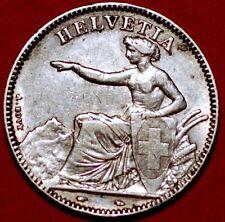 2 Francs 1850 A silver Switzerland KM# 10