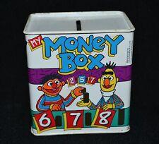 Sesame Street Tin Money Box Jim Henson Productions Vintage