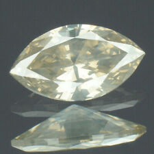 0.20 Ct 5.6x3.1x1.7mm NATURAL Gray DIAMOND LOOSE for Setting Marquise with CERT