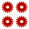 4x LEGO® Technic 18946 Zahnrad 16 Zähne rot NEU red