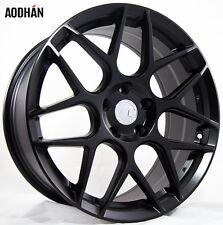 18X8 +35 AodHan LS002 5X120 Black Wheel Fit BMW 128 135 228 428 320 340 325 335I