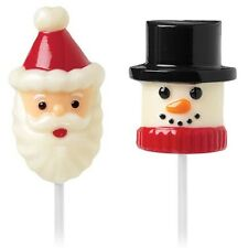 Snowman and Santa Marshmallow Pop Mold from Wilton  #1798 - NEW