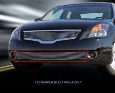 Billet Grille Grill Bumper  For Nissan Altima Sedan 2007 2008 2009