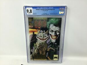 DC COMICS GRADED 1993 - BATMAN LEGENDS OF THE DARK KNIGHT 50 CGC 9.8 WHITE PAGES