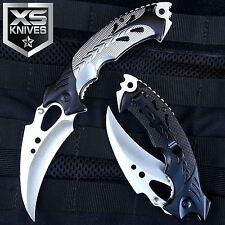 "8"" GRAY TALON Tactical Hunting Survival Rescue Camping KARAMBIT Knife"