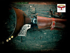RUGER BLACKHAWK OLD VAQUERO SINGLE SIX GRIPS Az Custom Stag™ B-Western Stag + SE