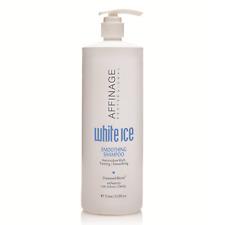 Affinage White Ice Smoothing Shampoo 1000ml Cruelty Free - UV Protection