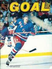 Mar. 15, 1986 Pittsburgh Penguins vs. New York Rangers Game Program Vintage Rare