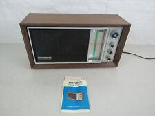 Vintage 1969 Panasonic AM/FM Table Radio Model RE-7259-Made In Japan-Works