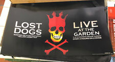 PEARL JAM:LTD.ED.PROMO 12 x 24 LOST DOGS 2 SIDED POSTER NEW NM