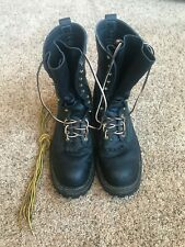 Whites Boots Smoke Jumper size 11B steel toe used REBUILDABLE Very Light use