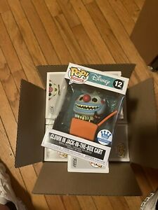Funko Pop! Trains Nightmare Before Christmas Clown In Jack In The Box Cart #12