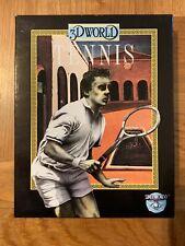 Tennis 3d World - Simulmondo - Gioco Amiga 500/500+/600/2000