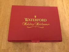 Waterford Nativity Staind Glass Votive 6pc MIB Original Box Holy Family