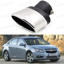 Silver Car Exhaust Muffler Tip Tail Pipe Trim for Chevy Cruze 2009-2015 #1017