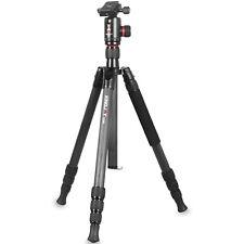 Kingjoy Portable Stable Foldable Carbon Fiber Digital Camera DSLR Tripod Kits