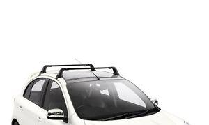 Genuine Nissan Micra K13 2011 Onwards Roof Rack Bars. KE7301H000