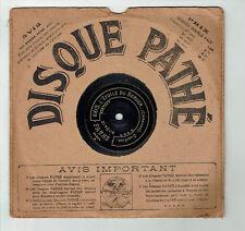 78T 21cm SAPHIR Disque Phono ETOILE BERGER - LES CLOCHES CORNEVILLE - PATHE 6813