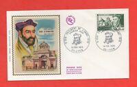 FDC Febrero 1970 - Philibert OLMO - Architect Del Castillo De Janet (645)