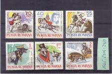 Rumänien 1965: Märchen und Sagen - Mi. 2419 -. 2424 o