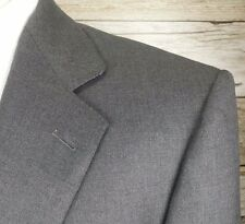 Ermenegildo Zegna Sport Coat Sz US 42 EU 52 Gray Wool 2 Button #104