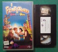 VHS FILM Ita Commedia I FLINTSTONES In Viva Rock Vegas ex nolo no dvd cd (V89) °
