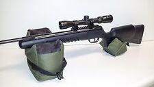 Large Shooting Bag Set Rifle Gun Rest Range Gear Front & Rear Bags