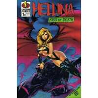Hellina: Kiss of Death #1 in Very Fine + condition. [*a6]