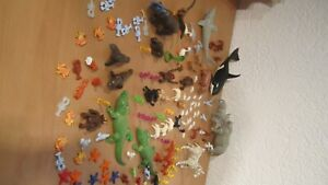 Playmobil 150 Tiere Bauernhof Zoo Tierpark Wald Sammlung Wal Hai Nashorn
