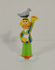 "1997 Pigeon Feeding Bert 3.25"" Tyco PVC Action Figure Sesame Street Workshop"