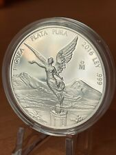 2016 1oz Silver Libertad PROOF ! 1 Onzas Plata Pura! Mexico Mint 7500 Only !!