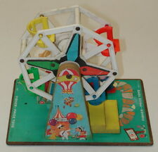 Vintage 1964  Ferris Wheels Music Box Fisher Price Toys Made In USA Working
