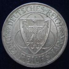 GERMANY WEIMAR REPUBLIC 1930A 3 REICHSMARK HIGH GRADE VERY GOOD DEFINITION KM#70