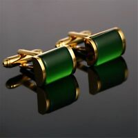 2017 Luxury shirt cufflinks men's buttons Gold cuff links wedding Jewelry Gift