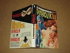 IL ROMANZO DI DIABOLIK NUMERO 1 DICEMBRE 1967  SANSONI EDITORE
