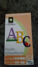 Circut Cartridge Plantin School Book