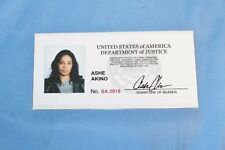 Shots Fired Sanaa Lathan Fake Gun Holster ID Card Movie Prop Set