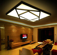 Modern LED Square Stack Ceiling Light Square Pendant Lamp Lighting Black/White