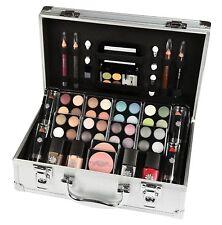 52 PC Carry Case Girls Make Up Kit Cosmetic Set Eyeshadow Nail Lip Eye Xmas Gift