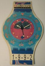 calendar swatch collector 1992, made in italy