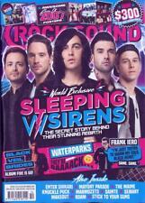 ROCK SOUND magazine - Oct 2017 Sleeping With Sirens Black Veil Brides Frank Iero