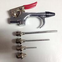 Neu Druckluft Werkzeug Set Ausblaspistole Druckluftpistole Pressluft Blaspi U2Y9